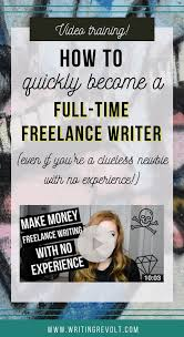best lance writing jobs images entrepreneur  quit your job and become a full time lance writer this video teaches you