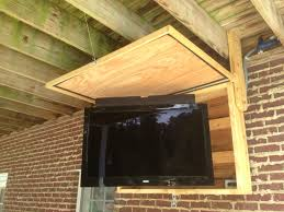 Outdoor Tv Cabinet Plans Stands Weatherproof Waterproof