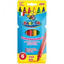 <b>Фломастеры Carioca Joy</b> 6 цветов - Акушерство.Ru