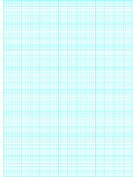 Printable Semi Log Paper 70 Divisions 5th 10th Accent By 8