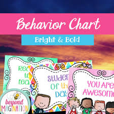 Behavior Chart Middle School