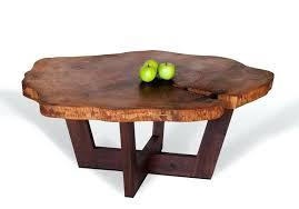 tree stump coffee table trunk base