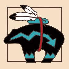 Decorative Tile Coasters Decorative Tile Collection Southwest Bear FetishTile Coaster 61