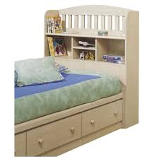 Furniture Home: 33 Awesome Twin Bed With Bookcase Headboard And ...