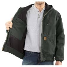 Carhartt Men's Sandstone Active Quilted-Flannel Lined Jacket (Big ... & Carhartt Men's Sandstone Active Quilted-Flannel Lined Jacket (Big/Tall) -  Army ... Adamdwight.com