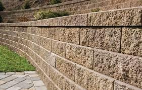 b retaining wall blocks garden