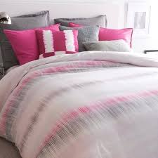 dkny duvet frequency 1 twin duvet cover fuchsia pink grey abstract print dkny city pleat full