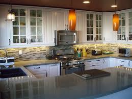 Kitchen Remodel Granite Countertops Black Cabinetry With White Granite Countertop Also Panel