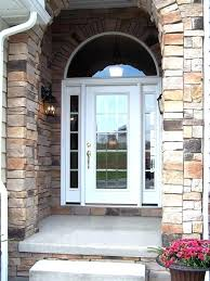 wood front entry doors with glass steel front back side door entry doors glass front entry