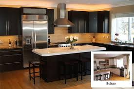 cabinet refinishing before and after home interior ekterior ideas