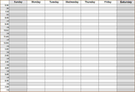 schedule weekly company weekly schedule tunnelvisie