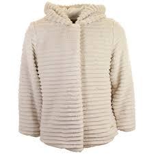 may faux fur coat marzipan