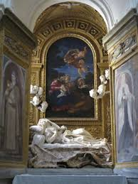 gian lorenzo bernini italian artist com death of the blessed ludovica albertoni altarpiece by gian lorenzo bernini c 1674