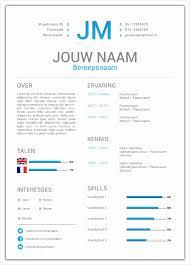 5 Cv Template Word Nederlands Free Samples Examples Format