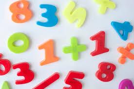image of fridge magnet mathematics