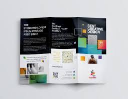 Best Brochure Templates Best Creative Corporate Tri Fold Brochure Template 001211