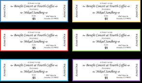 Benefit Ticket Template 20 Free Raffle Ticket Templates With Automate Ticket Numbering