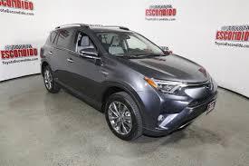 New 2018 Toyota RAV4 Hybrid Limited Sport Utility in Escondido ...