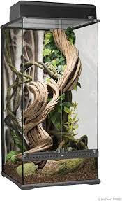 Exo Terra PT2606 Glasterrarium inklusive Rückwand: Amazon.de: Haustier