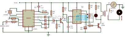 mobile controlled home appliances out microcontroller cellphone controlled home appliances circuit diagram out microcontroller