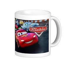 disney cars personalised mug