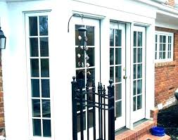 wood storm door with glass changing storm door from glass to screen sliding screen door repair wood storm door with glass