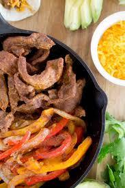 Slow cooker flank steak fajitas100 days of real food. Easy Steak Fajitas Recipe Devour Dinner Instant Pot Steak Fajitas