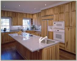 Hickory Kitchen Home Depot Natural Hickory Kitchen Cabinets Cabinet Home