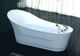 60 inch freestanding whirlpool tub free standing jetted unique with air jets single use