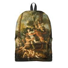 <b>Рюкзак 3D</b> Пан и Сиринга (Никола Пуссен) #2835430 – <b>рюкзаки</b> с ...