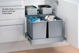 Einbau Mülleimer Küche Beautiful Galerie Abfallsammler Küche Müll