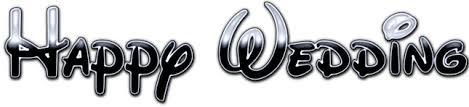 ディズニーロゴ風フォントを使った結婚式オープニングムービー素材