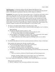 informative speech outline attention grabber caffeine is the 2 pages inform speech sample ouline