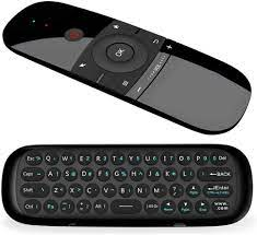 Buy Air Remote,WeChip 2.4G Wireless Keyboard W1 Remote Control for Android  TV Box/PC/Projector/HTPC/All-in-one PC and More Online in Tunisia.  B07HB248H6
