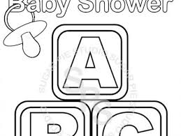 Small Picture Baby Coloring Pages For Baby Shower Coloring Coloring Pages