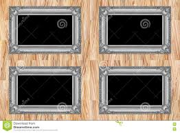 modern wood picture frames. It Is Four Grey Wooden Frames On Modern Wall. Wood Picture D