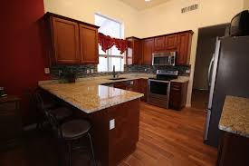 gilbert full kitchen remodel cabinets flooring counters
