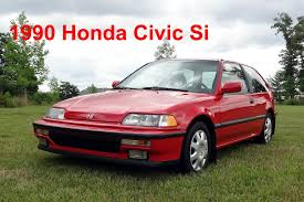 Brand New 1990 Honda Civic Si - YouTube