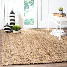 9 x 6 area rug natural fiber 6 x 6 square jute area rug 6 x