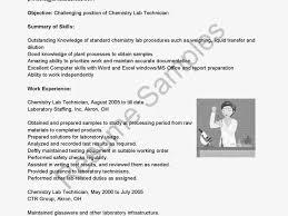 Chemist Resume Eliolera Com