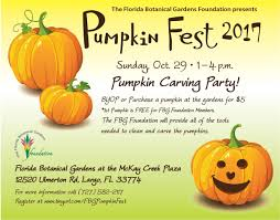 pinellas county press releases florida botanical gardens celebrates fall with pumpkin fest