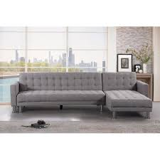 sectional sleeper sofa fabric. Exellent Fabric Convertible Fabric Sectional Sleeper Sofa  ATTALENS With K