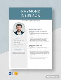 Support Technician Resume Desktop Support Technician Resume Template Download 4815