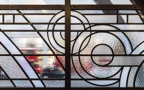 art deco stained glass hawksmoor restaurant piccadilly london section