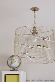 lighting for girls room. diy birdcage light such a fun and eclectic idea for fixture perfect lighting girls room