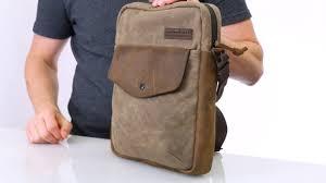 Waterfield Designs Bolt Backpack Vertical Messenger Bag Bolt Crossbody