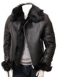 mens black toscana sheepskin jacket exminster