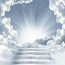 Stairs {pl} staircase stair [stairway] stairway [am.] flight of steps flight of stairs. Treppe Zum Himmel Stairs In Sky Konzept Mit Sonne Und Weissen Clouds Concept Religion Hintergrund Lizenzfreie Fotos Bilder Und Stock Fotografie Image 73250298
