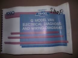 chevy g model van electrical diagnosis and wiring diagrams 1990 chevy g model van electrical diagnosis and wiring diagrams manual