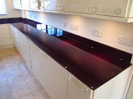 For Kitchen Worktops Glass Kitchen Worktops From Modern Glass London